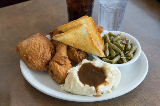 Washington, MO: Our hand breaded fried chicken - we're famous for it!