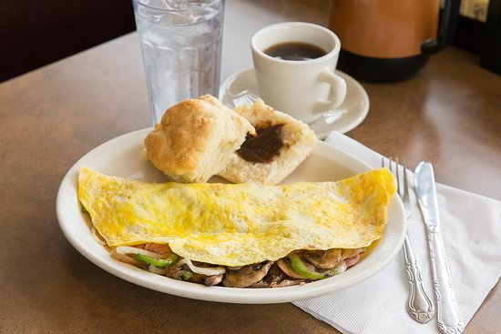 Washington, MO: Try one of our three egg omelets!