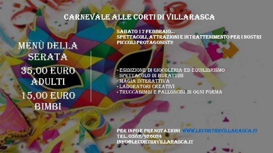 Villarasca, Italia: Carnevale con intrattenimento anche per i più piccoli!