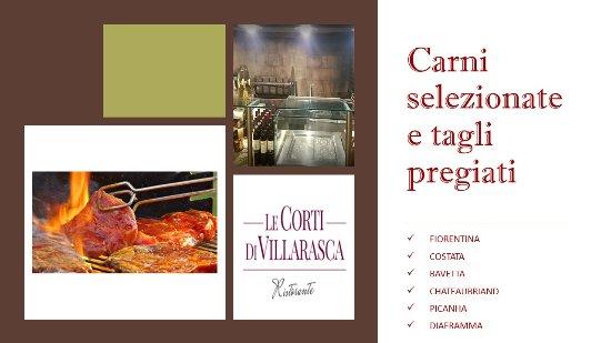 Villarasca, Italia: Carni selezionate e tagli pregiati