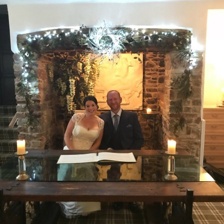 Our Wedding at The Combe House Hotel