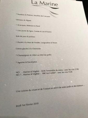 La marine noirmoutier en l 39 ile restaurant reviews phone number photos tripadvisor - Restaurant la marine noirmoutier ...
