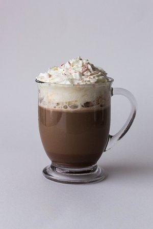 Westland, MI: Peppermint Mocha & Peppermint Hot Chocolate