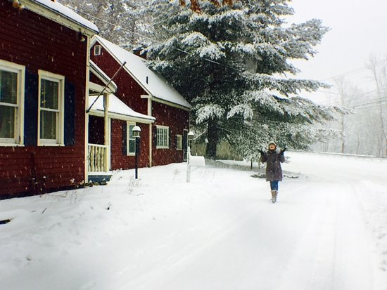Wilmington, VT: A snowy day in southern Vermont