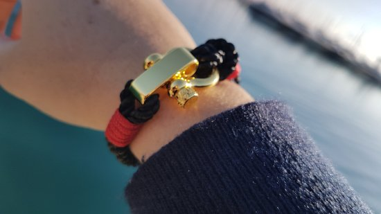 9c4054661 Break Time Dubrovnik: Nautical Bracelets. Beach jewelry. Gold rope bracelet.  Souvenirs from