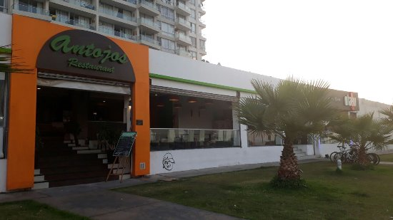 Antojos Restaurant: Entrada al Restaurant, grande linda vista