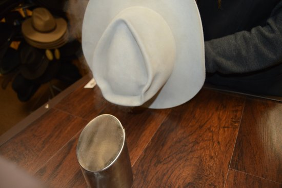 Higginsville, MO: Hat shaping