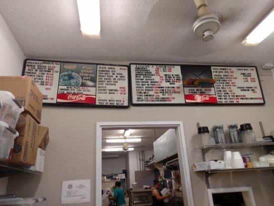 Kaunakakai, Hawái: Food Menu