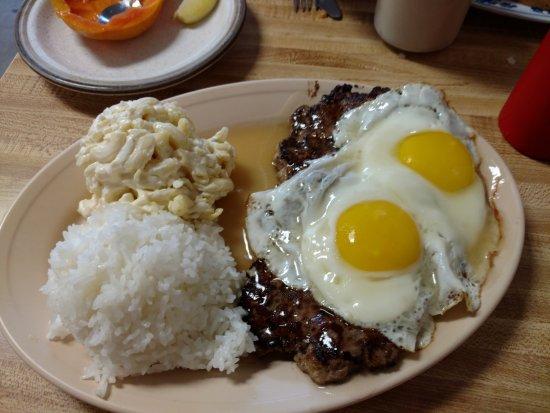 Kaunakakai, Hawái: Full Sized Loco Moco