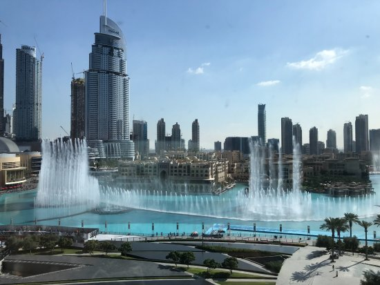 Armani Hotel Dubai : view from room during the day