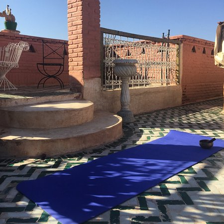 Sally Goldfinger Yoga & Ayurveda: My teaching space, connecting with lovely Yoga customers
