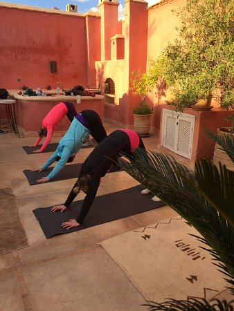 Sally Goldfinger Yoga & Ayurveda: Private class with lovely Norwegian ladies