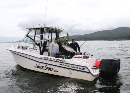 Port Hardy, Kanada: Another beauty fish for Wicked Salmon Sportsfishing