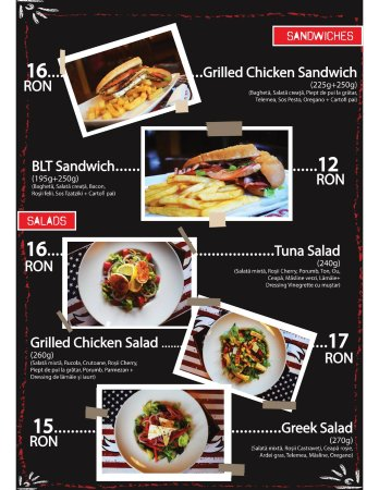 College Bar &Grill: Sandwiches and Salads
