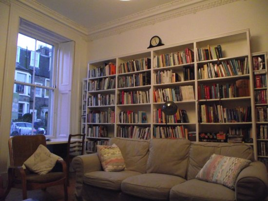 Emmaus House, Edinburgh SCIO: library