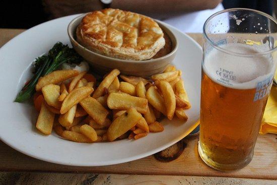 Torridon, UK: Pie