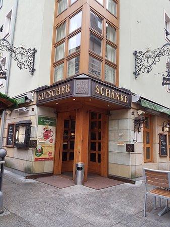 Der Eingang - Bild von Kutscherschänke, Dresden - TripAdvisor