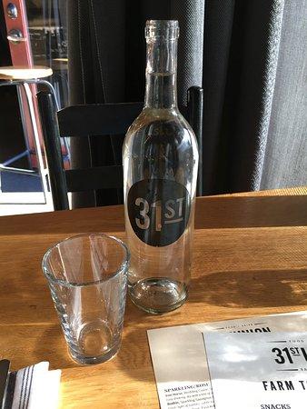 San Mateo, CA: Bottle of water
