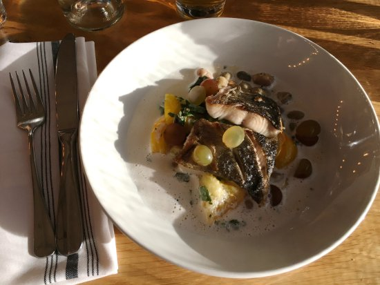San Mateo, CA: Black cod dish