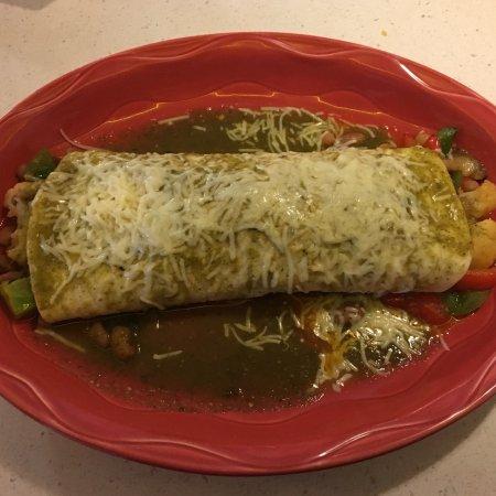 Eagle, CO: Veggie Burrito with no sour cream.