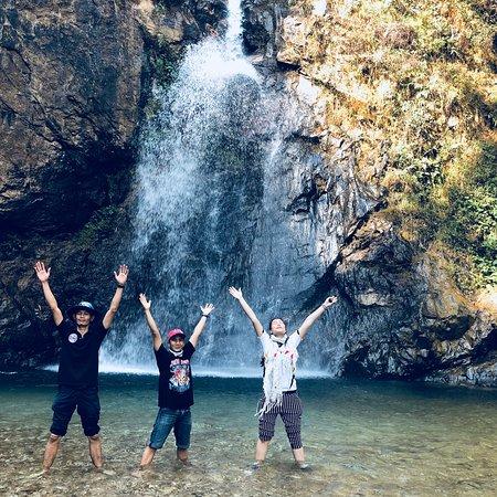 So fun this waterfall