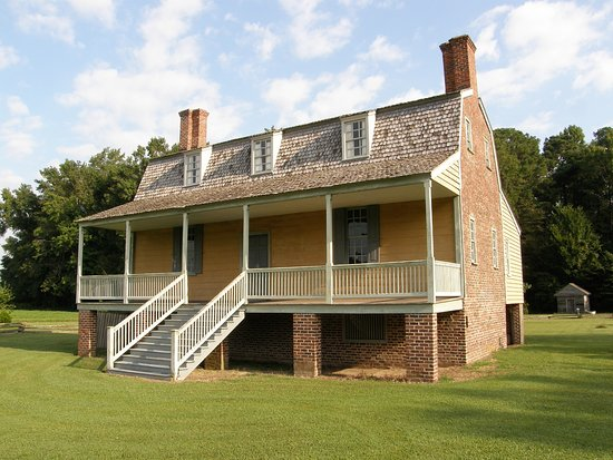 Windsor, Carolina del Norte: The King-Bazemore House, which dates to 1763, is a bonus attraction at Historic Hope Plantation.