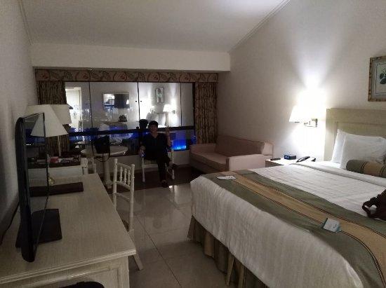 Los Tajibos Hotel & Convention Center: Vista interior de la habitación...