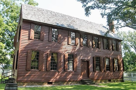 Bath, Caroline du Nord : The Palmer House is one of oldest buildings in North Carolina.