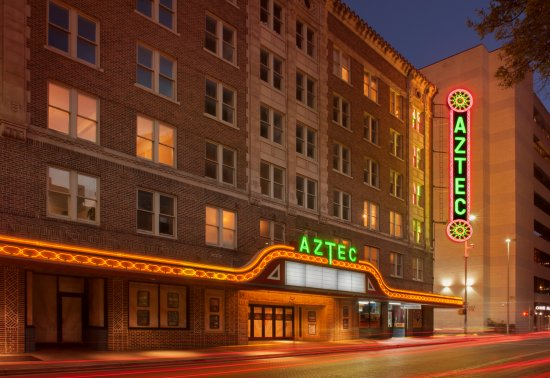 ‪The Aztec Theatre‬