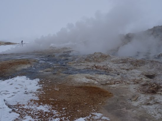 米契湖一日游和阿库雷里的强力黛提瀑布(吉普车最多6人)照片