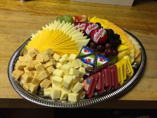 Java Connection: Catering- Fruit & Cheese Platter