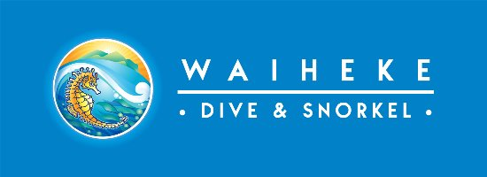Waiheke Island, New Zealand: The Waiheke Dive & Snorkel Logo!