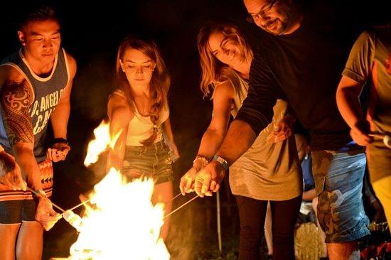 Dania Beach, FL: Bonfire on the Beach