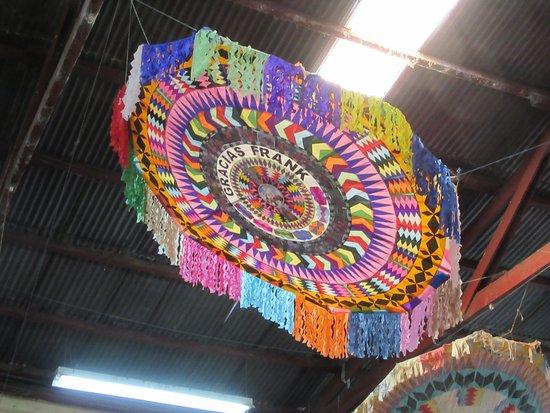 Nim Po't Centro de Textiles Tradicionales: A Mayan kite