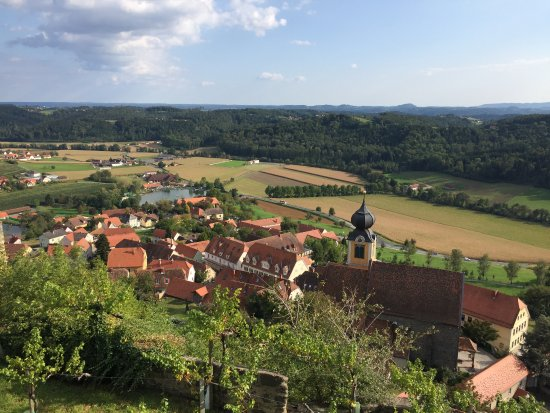 Riegersburg: View of the valley below