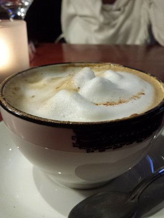 The Cattle Baron: My yummy latte