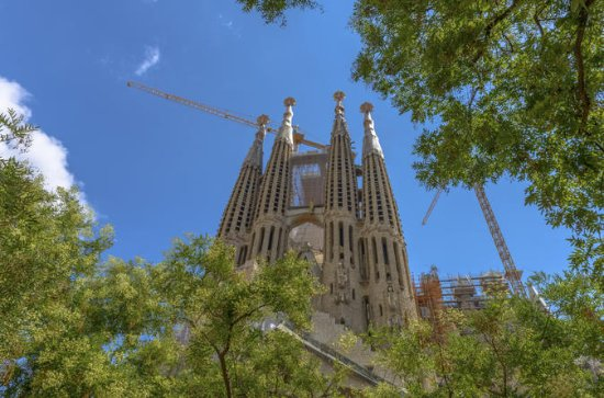 Barcelona La Sagrada Familia Early Access Tour, Tower Entry