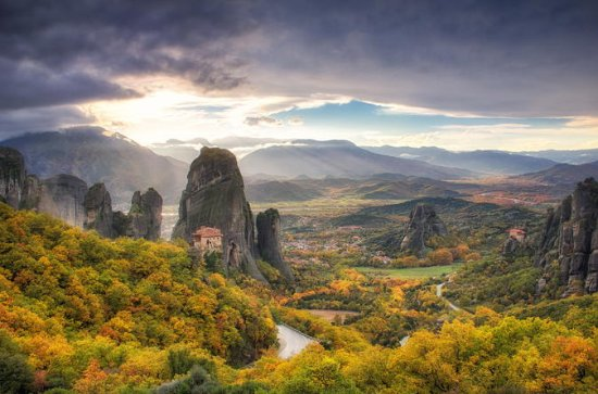 Private Tour: Meteora Tour with...