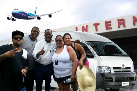 Private Montego Bay Airport...