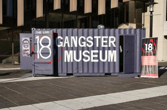 18 Gangster Museum Admission Ticket...