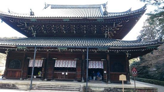 Sennyuji Temple: 仏殿を下より