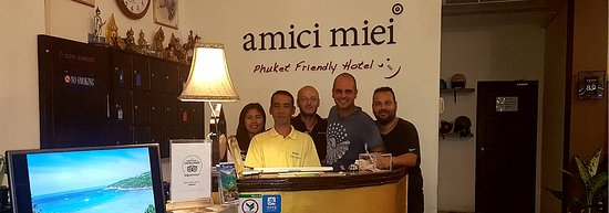 Amici Miei Hotel : Reception Staff