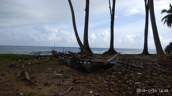 Little Andaman, India: A Nicobari Tribal Boat