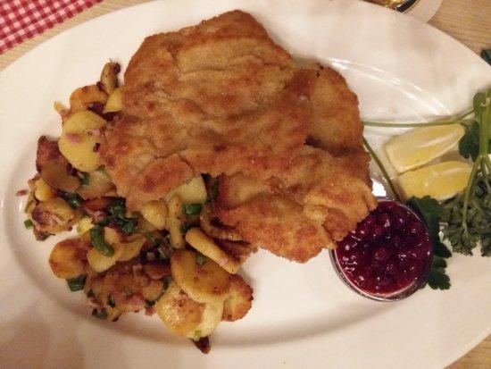 Ottobrunn, Germany: wiener schnitzel
