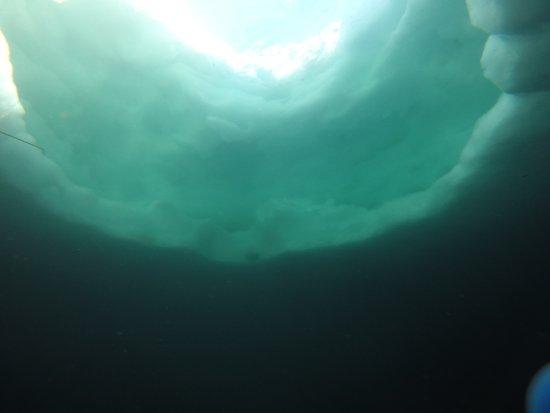Ecole de Plongee sous glace Val-Thorens : Lac du Lou 2035m - Plongée sous glace