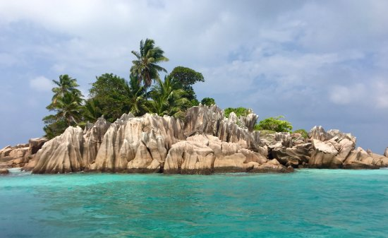 Amitié, Seychelles: St Pierre Island - Seychelles. We went snorkelling here at the end of our excursion with Angel T