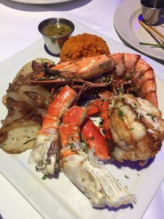 シーグリルレストラン, seafood platter