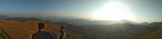 Kalasa, India: Panorama view