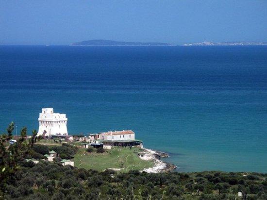 San Nicandro Garganico, איטליה: Vista Panoramica Torre Mileto con Isole Tremiti in lontananza