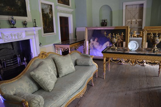 Saltram (National Trust): Salon (wurde gerade renoviert)